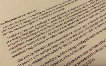 Barnelova paragraf 43 med lovkommentar