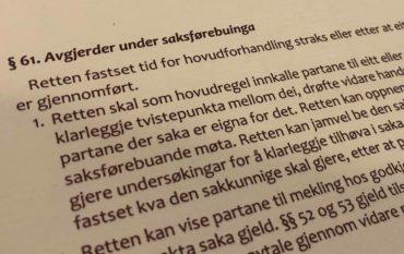 Barnelova paragraf 61a med lovkommentar