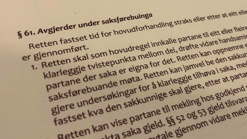 Barnelova paragraf 61 med lovkommentar