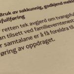 Barneloven § 65 a med lovkommentar
