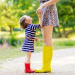 Hvor ofte får barna fast bosted hos mor?