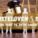 Tvisteloven § 11-6. Rettens plikt til aktiv saksstyring