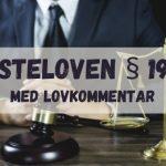 Tvisteloven § 19-15. Hva rettskraft innebærer